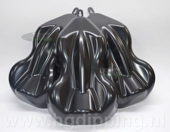 Carshape spuitstaal 3D zwart