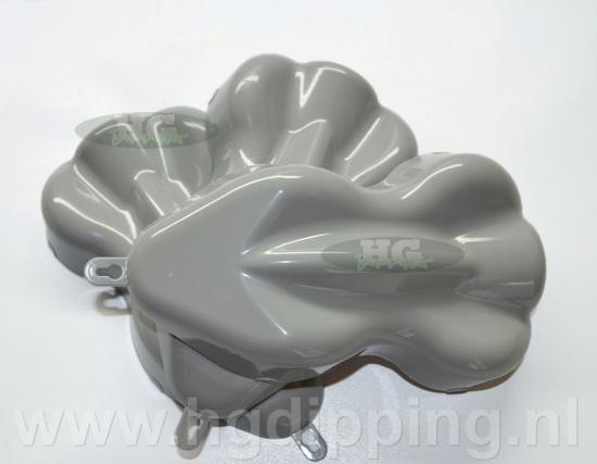 Carshape spuitstaal 3D grijs