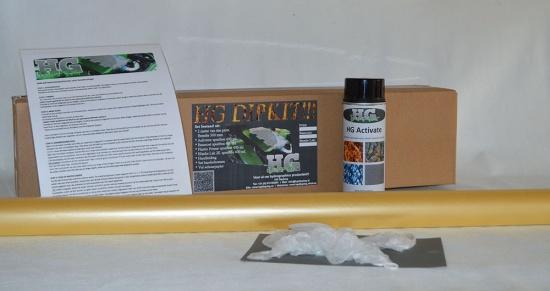 Carbon Dipkit klein! Print breedte 1 meter.