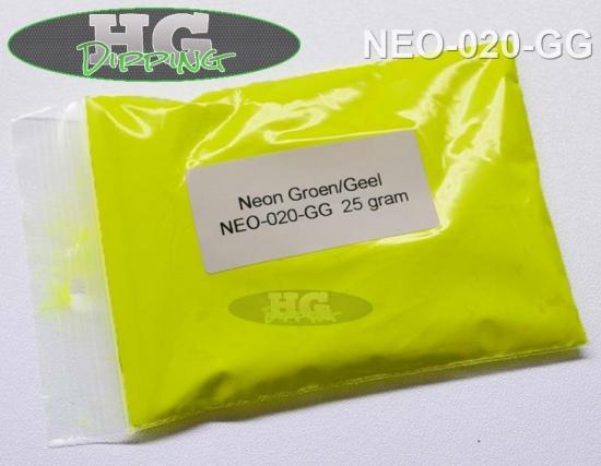 Neon Geel/ Groen. Fluoriserende verf!