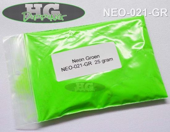 Neon Groen. Fluoriserende verf!