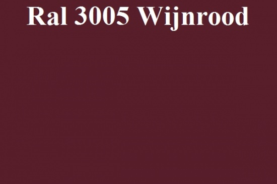 Basecoat lak Ral 3005 Wijnrood