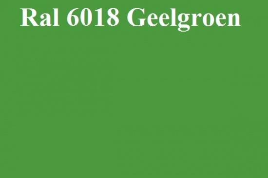 Basecoat lak Ral 6018 Geelgroen