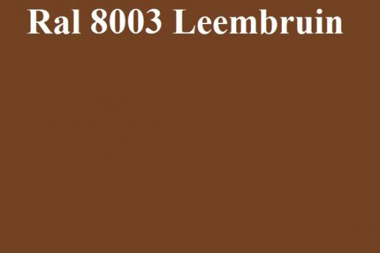 Basecoat lak Ral 8003 Leembruin