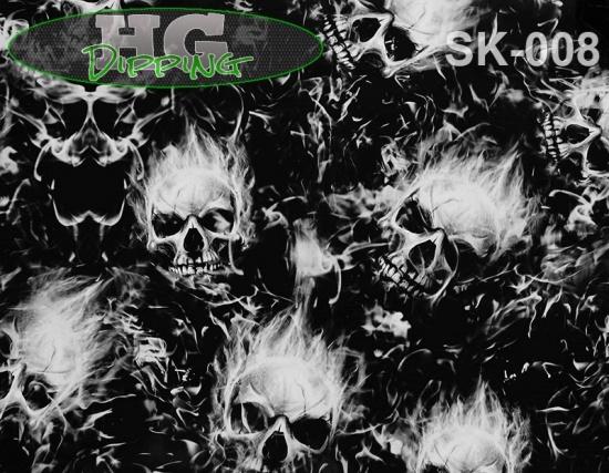 Single Fire Skulls SK-008