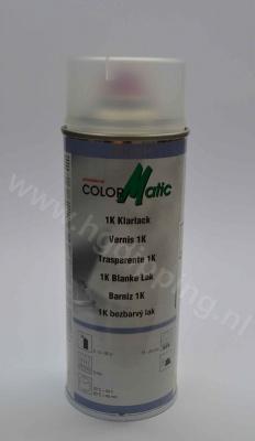 Colormatic 1k blanke lak hoogglans 400 ml
