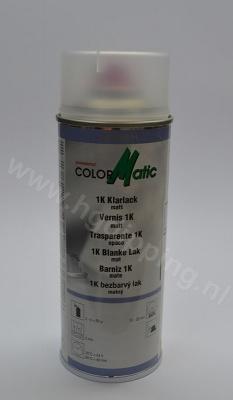Colormatic 1k blanke lak mat 400 ml