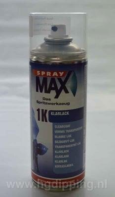 SprayMax 1k blanke lak hoogglans