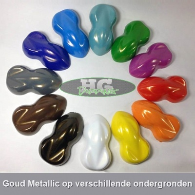 Plastic dip Goud Metallic