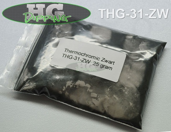 Thermo Black! Heat-changing effect powder
