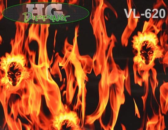 Flames Skull VL-620